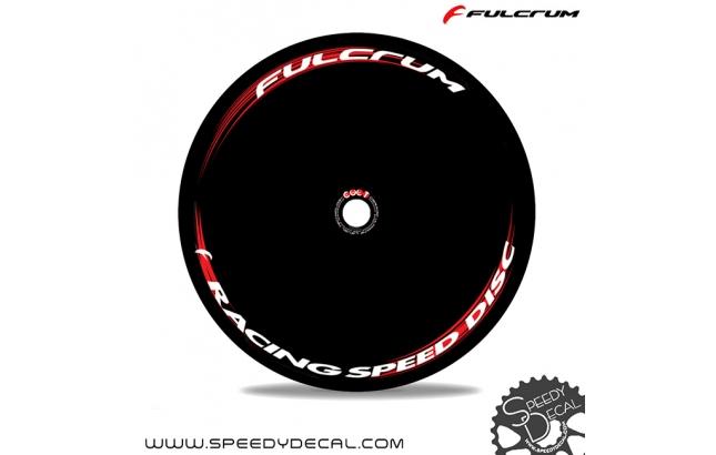 Fulcrum Racing Speed Disc 2018 - adesivi per ruota lenticolare
