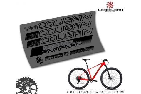 Lee Cougan Rampage Air - kit adesivi telaio