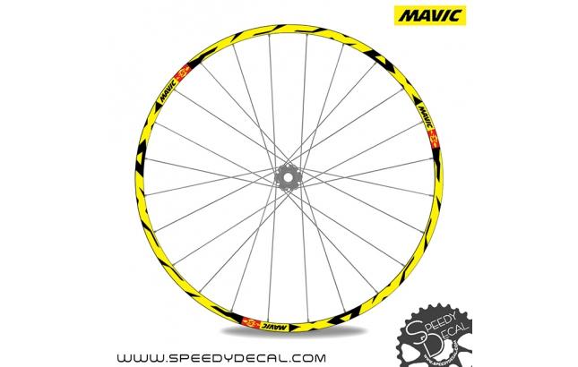 Mavic Deemax DH 27.5 - adesivi per ruote