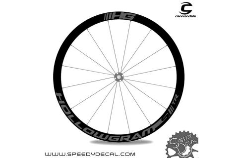 Cannondale Hollowgram SL TR Disc 2017 - adesivi per ruote