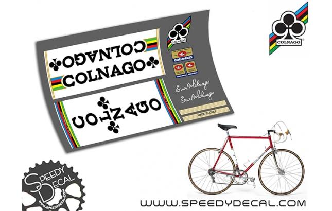 Colnago Mexico vintage - kit adesivi per telaio