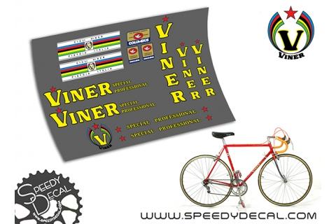 Viner Special Professional vintage - kit adesivi per telaio