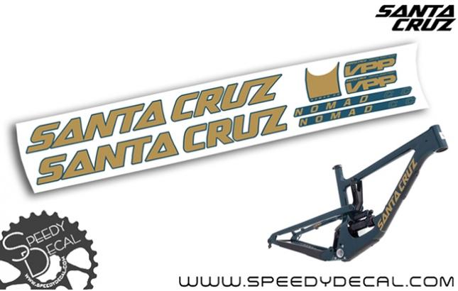 Santa Cruz Nomad C / CC 2018 - kit adesivi telaio
