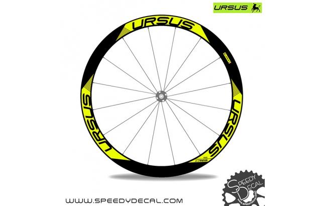 Ursus Miura C37 Disk  - adesivi per ruote
