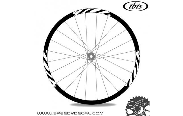 Ibis 938 - adesivi per ruote