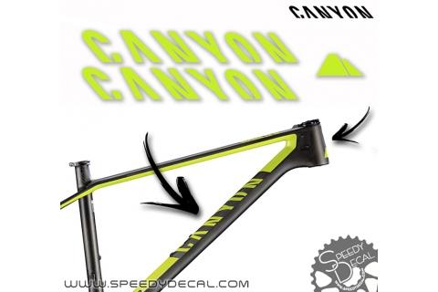 Canyon - kit adesivi telaio