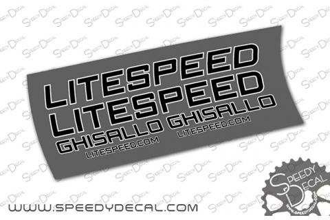 Litespeed Ghisallo - kit adesivi telaio