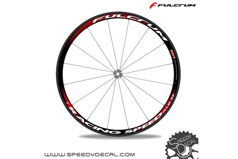 Fulcrum Racing speed xlr 35 - adesivi per ruote