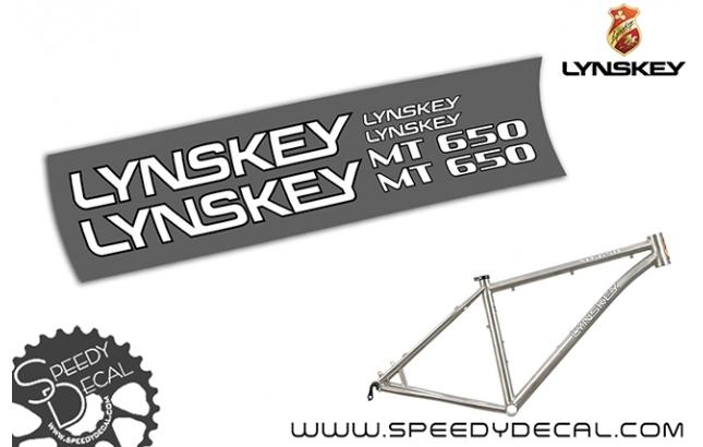 Lynskey MT 650 - kit adesivi telaio