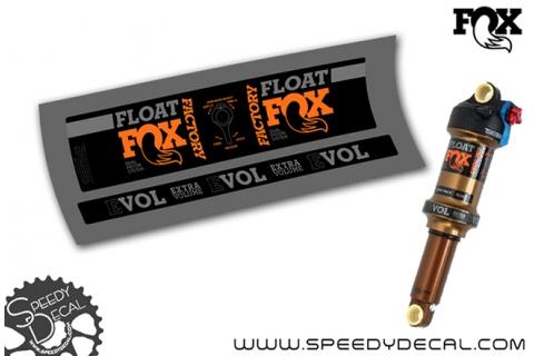 Fox Float Factory DPS Evol 2019 - adesivi per ammortizzatore posteriore