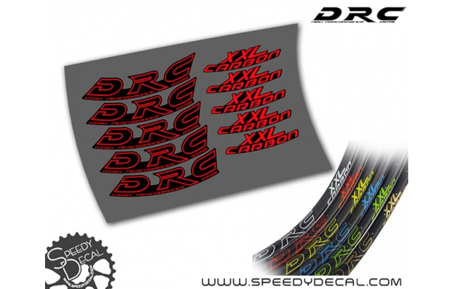 DRC XXL Carbon - adesivi per ruote