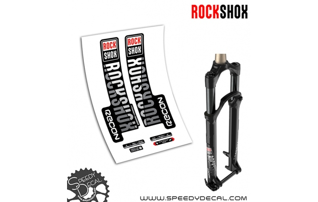 Rock shox Recon RL anno 2019 - adesivi per forcella