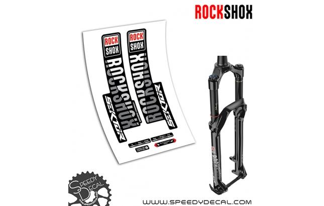 Rock Shox Sektor RL 2019 - adesivi per forcella