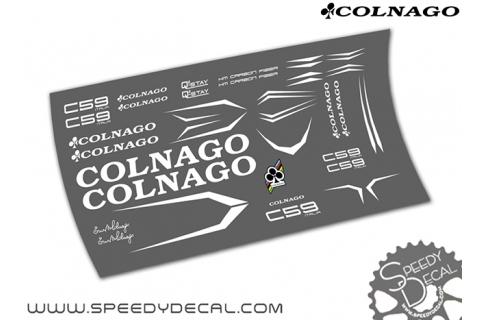 Colnago C59 Italia - kit adesivi per telaio