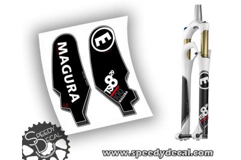 Magura TS8 R 100 29 anno 2013 - adesivi personalizzati per forcella