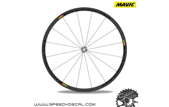 Mavic Ksyrium SLR 2014 - adesivi per ruote