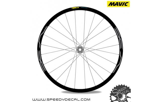 Mavic E-XA Elite - adesivi per ruote