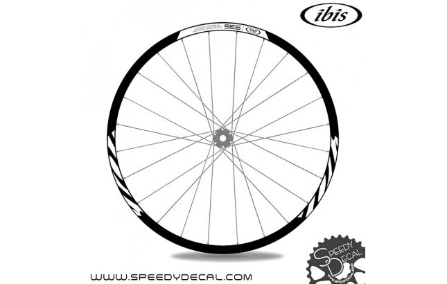 Ibis 935 carbon - adesivi per ruote