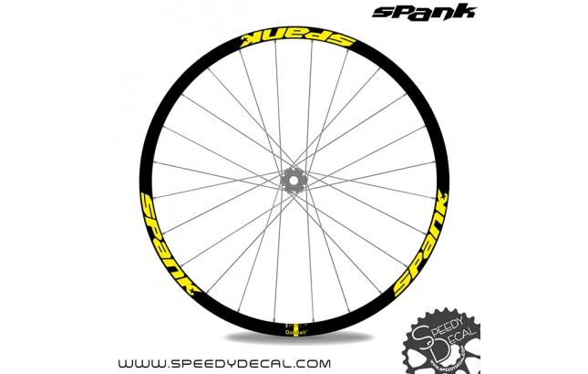 Spank Spike Team 33 - adesivi per ruote