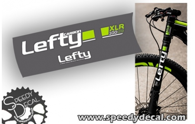 Cannondale Lefty 2.0 xlr 2015 - adesivi per forcella