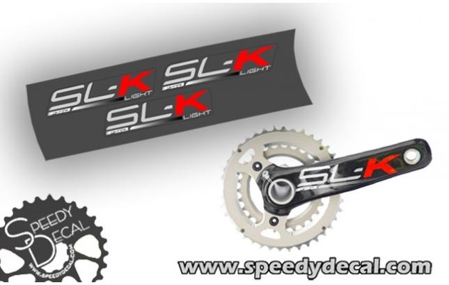 FSA SL-K carbon -  adesivi per pedivelle
