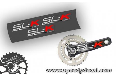 FSA SL-K carbon -  adesivi personalizzati per pedivelle