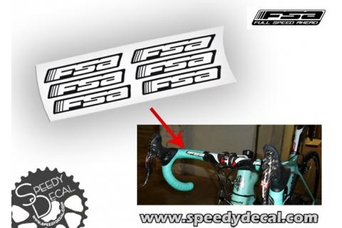 FSA adesivi personalizzati per manubrio/nastro manubrio - Full Speed Ahead