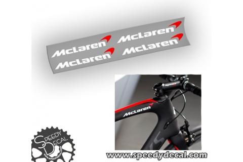 Mc Laren Adesivi personalizzati per telaio Specialized S works