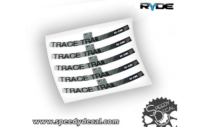 Ryde Trace Trail - adesivi per ruote