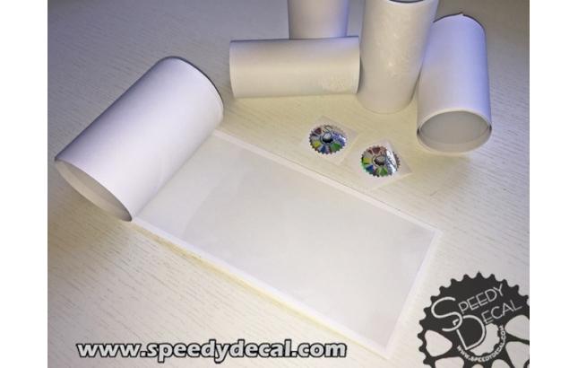 Predisposizione kit contente pellicola protettiva per telaio, pedivelle, batticatena - 10 cm x 1 mtr