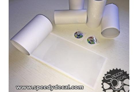 Pellicola protettiva ultra lucida per telaio, pedivelle, batticatena - 10 cm x 1 mtr