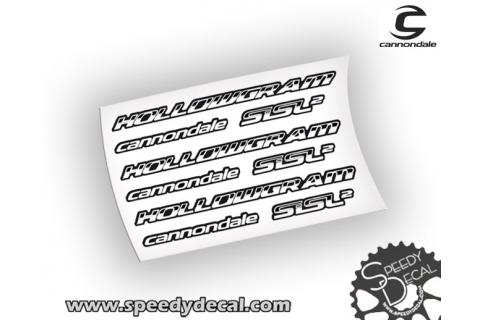 Cannondale Hollowgram Sisl2 - adesivi personalizzati per pedivelle