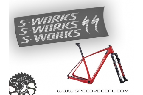 Specialized Stumpjumper S-Works 2015 - kit scritte telaio