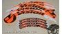 Vision Metron disc - adesivi personalizzati per ruota lenticolare
