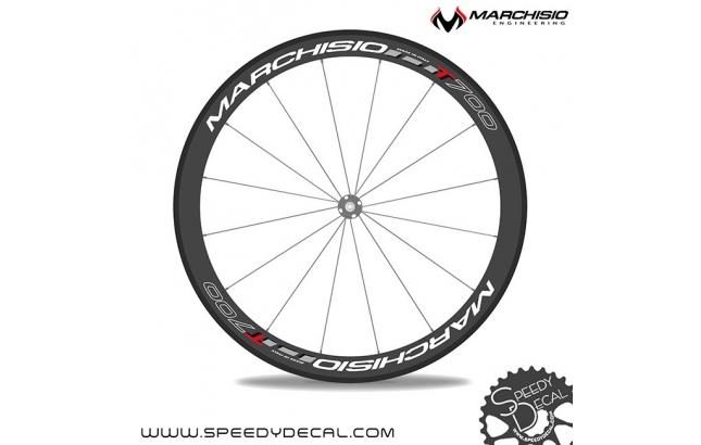 Marchisio T700 carbon 2014 adesivi personalizzati