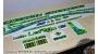 Cannondale F-Si Factory Racing 2015 - kit adesivi per telaio