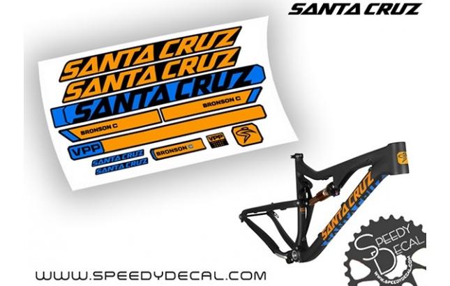 Santa Cruz Bronson C 2015 - kit adesivi telaio
