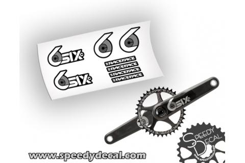 Race Face SIXc carbon Adesivi personalizzari per pedivelle