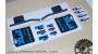 Fox 34 Float/Talas modello 2016 - adesivi personalizzati per forcella