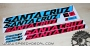 Santa Cruz Nomad 2015 - kit adesivi telaio