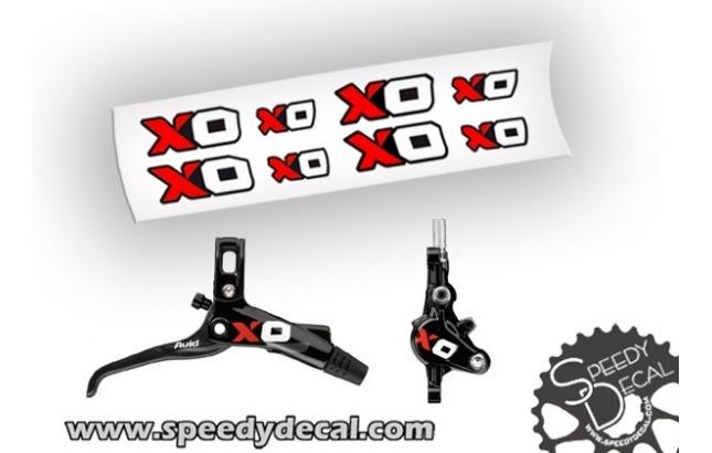Avid Sram X-0 - adesivi per freni