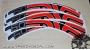 Enve M series - M60 Forty - adesivi personalizzati per cerchi mtb