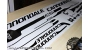 Cannondale F-Si Factory Racing 2016 - kit adesivi per telaio