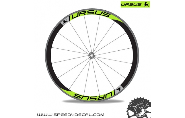 Ursus - adesivi personalizzati per cerchio