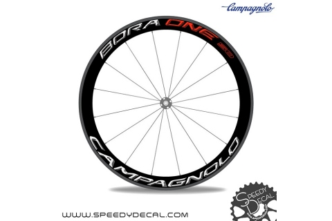 Campagnolo Bora One 50 2016 - adesivi personalizzati per ruote