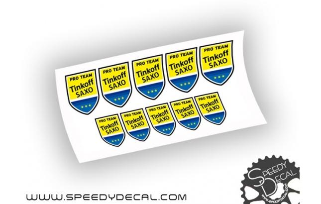 Tinkoff Saxo Pro Team - kit adesivi