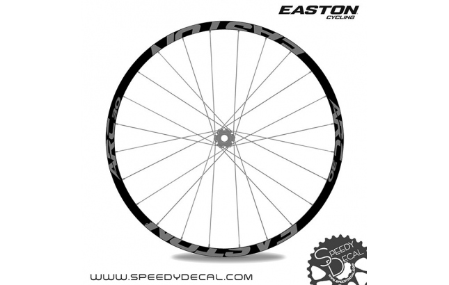 Easton ARC30 - adesivi per ruote