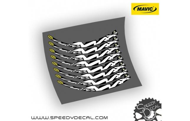 "Mavic Crossmax XL 26"" 2006 - adesivi per cerchi"