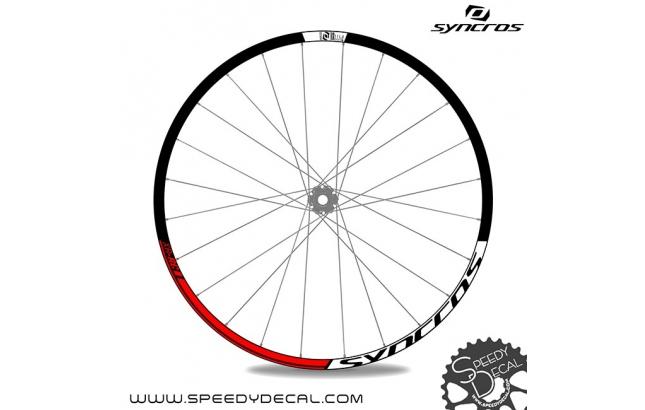 Syncros adesivi personalizzati per ruote con logo