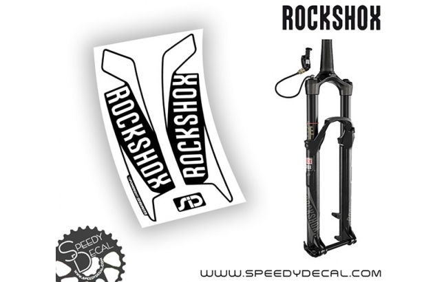 Rock shox SID / REBA / RECON / REVELATION  2016 - adesivi per forcella